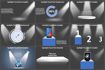 Spotlight Powerpoint Templates