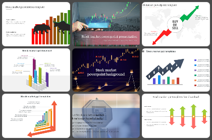 Stock market Powerpoint Templates