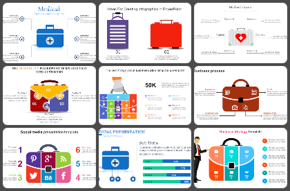 Suitcase Powerpoint Templates