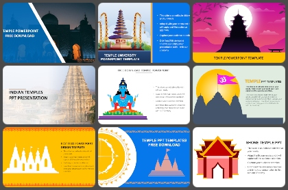 Temple Powerpoint Templates