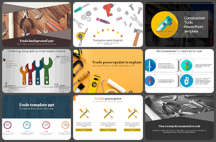 Tools Powerpoint Templates