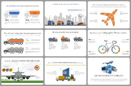 Transport Powerpoint Templates