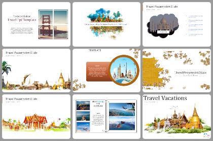 Travel Powerpoint Templates