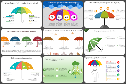 Umbrella Powerpoint Templates