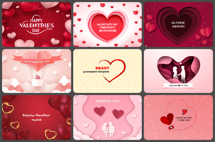 Valentines day Powerpoint Templates