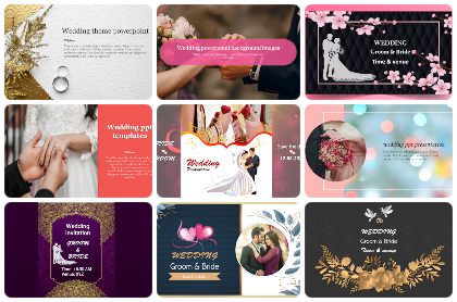 Wedding Powerpoint Templates