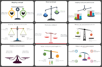 Weighting Scale Powerpoint Templates