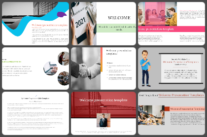 Welcome Powerpoint Templates