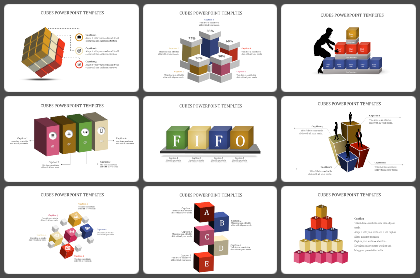 Cubes Powerpoint Templates