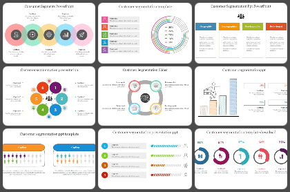 customer segmentation Powerpoint Templates